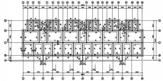 五层砌体结构住宅楼结构施工图(阁楼结构 坡屋面)