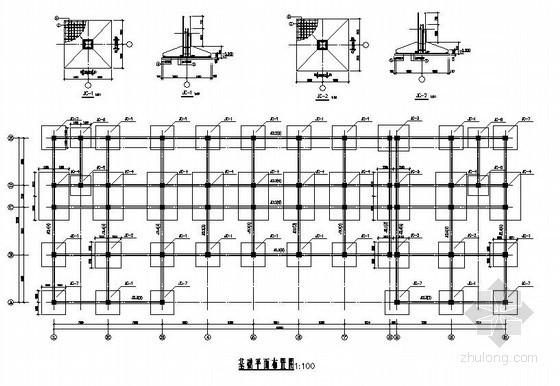 [学士]某高校5层框架图书馆毕业设计(含计算书,建筑、结构图)