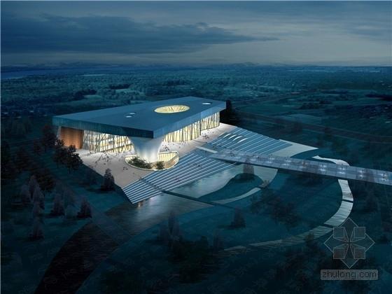 [山东]现代风格博物馆建筑设计方案文本
