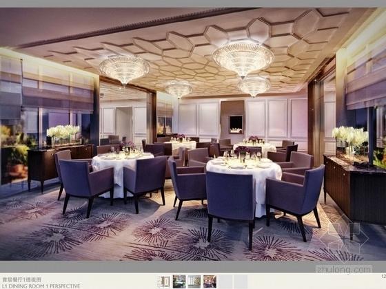 [珠海]独栋古堡式国际会所最终室内设计方案效果图