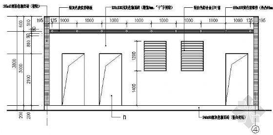 公厕的建筑结构设计图纸