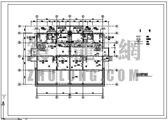 vrv与全热交换器图纸资料下载-某工程VRV设计图纸