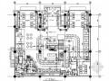 主题餐厅餐饮空间装修CAD设计图(含效果)