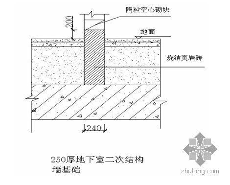 北京某手术楼二次结构施工方案