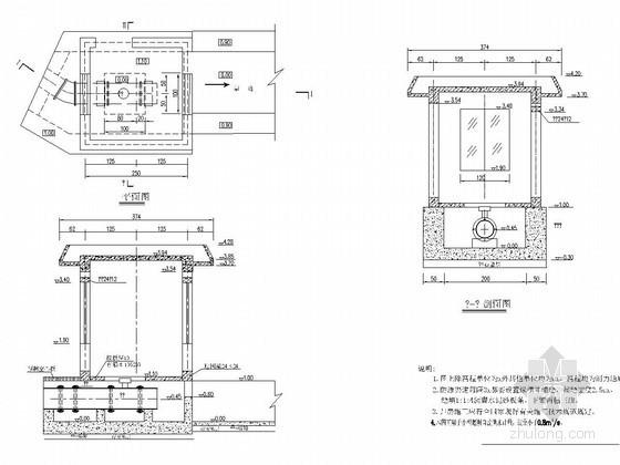 U水槽资料下载-小型农田水利工程量水设施设计详图(20张)