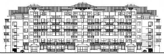 一套多层住宅规划及方案设计