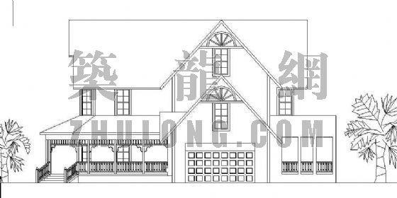 经典小型别墅方案系列12