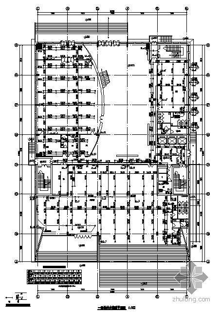屋面消防水箱图纸资料下载-某财政局办公楼给排水消防图纸