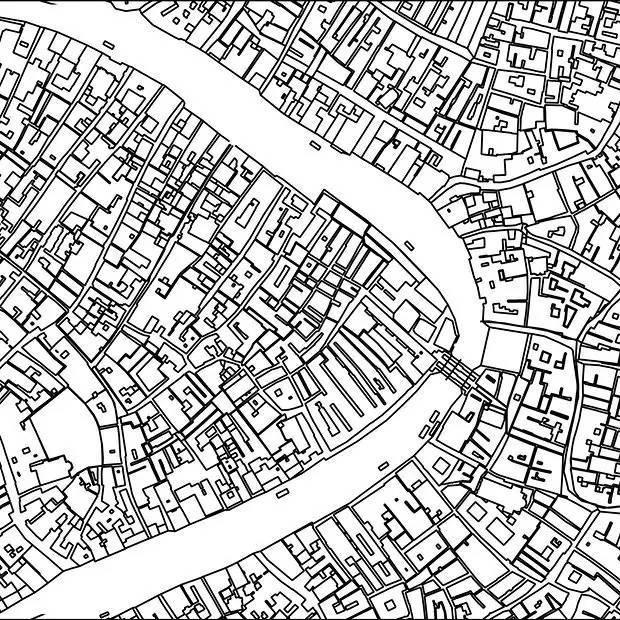 你能猜出这些CAD图都是那个城市吗?