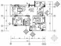 一套完整现代风格小三居室内装修施工图