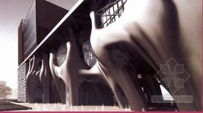 仿生空间多变异型曲面钢筋混凝土筒体结构群施工方案