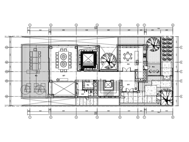 [三亚]李玮珉海棠湾四季酒店度假别墅A户型(施工图CAD+物料表)