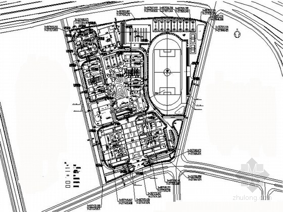 [东莞]职业技术学院及周边景观设计施工图