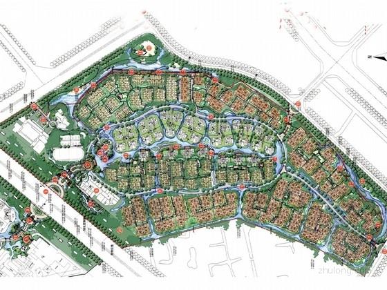 [云南]阳光春城滨水居住区景观规划设计方案(知名设计单位)
