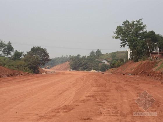 [四川]城市道路工程路基土石方专项施工方案109页(内容详细)