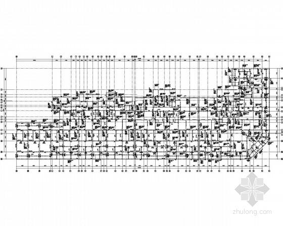 三十三层剪力墙商住楼结构施工图(含附属商业楼)