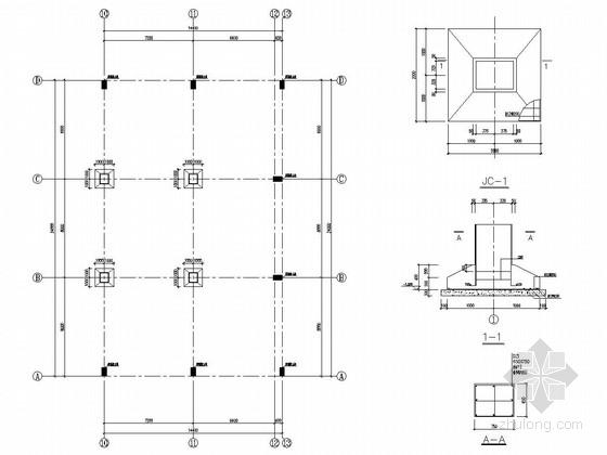 二层钢结构酒店施工图资料下载-钢结构食堂结构施工图(含模型)