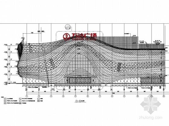 [广东]知名地产大商业购物中心外装饰幕墙工程施工图(含计算书)
