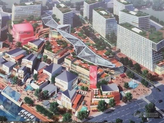 [上海]多栋框架剪力墙结构城市广场结构施工图(含计算书)