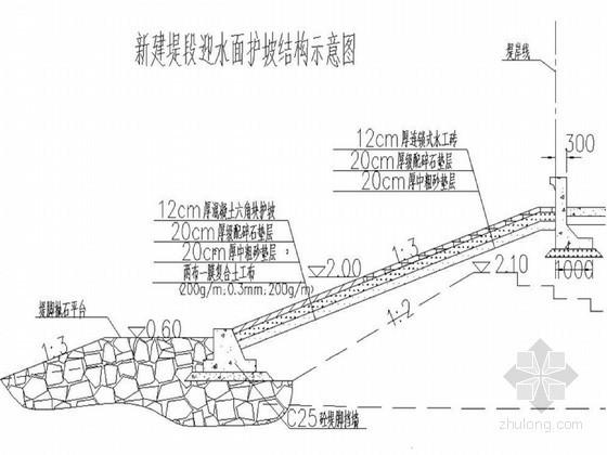 堤防工程施工组织设计(新建堤 旧堤加固)