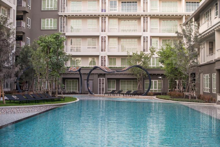 泰国秋季公寓楼小区_5