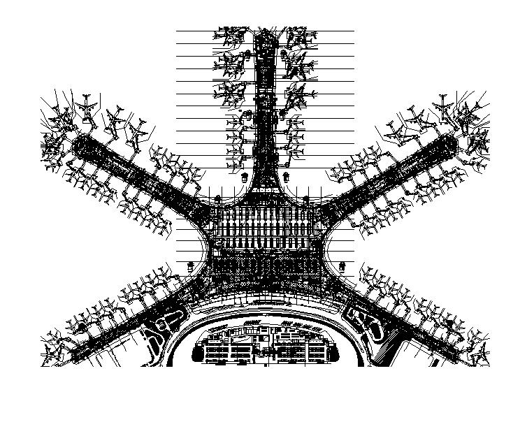 青島國際機場航站樓給排水施工圖(408張,CAD+PDF)