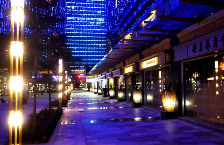 深圳香蜜湖东亚国际风情街景观-1