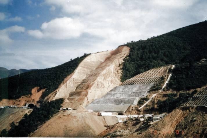 高边坡工程勘察设计培训讲义-高110m的砂泥岩高边坡