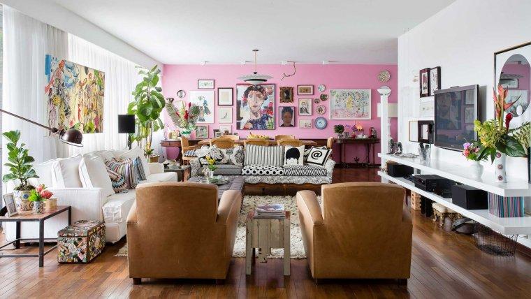 [混搭风格]RSRG-圣保罗公寓室内实景效果图31P
