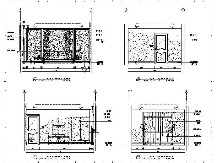 [苏州]某知名集团旗下时尚休闲会所室内设计施工图_5