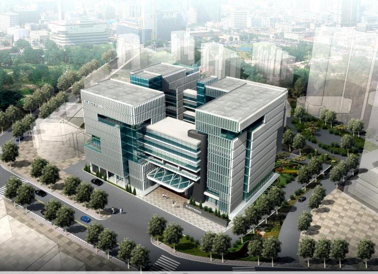 [福建]十层现代风格高层行政办公楼建筑方案文本(PPT+JPG)