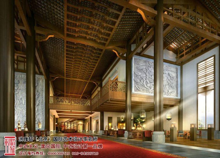 徐州古典中式酒店设计,体现舒适自在的休闲环境_3