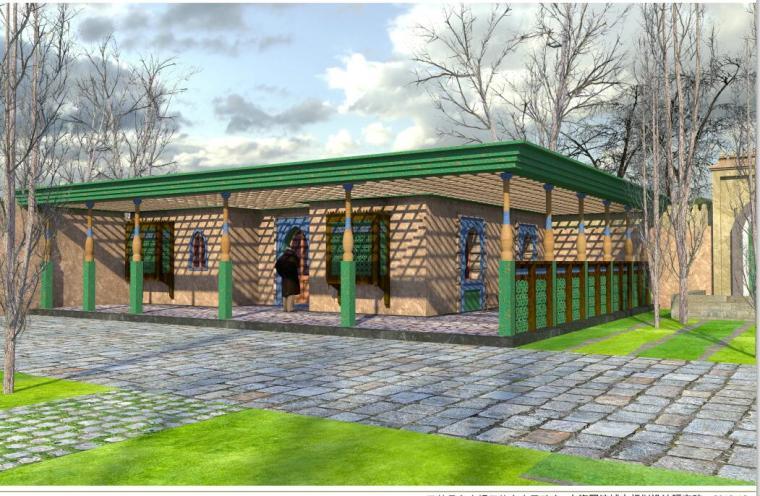 新疆某县多来提巴格乡塔格吾斯塘村村庄规划景观设计文本_7