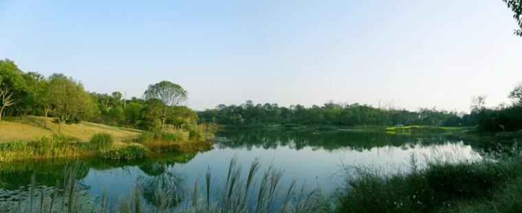 江西省前湖迎宾馆景观设计