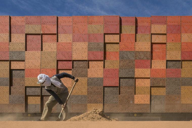 摩洛哥可拓展性盖勒敏机场外部实景图 (7)