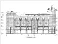 海城商厦现代多层商业建筑设计施工图CAD