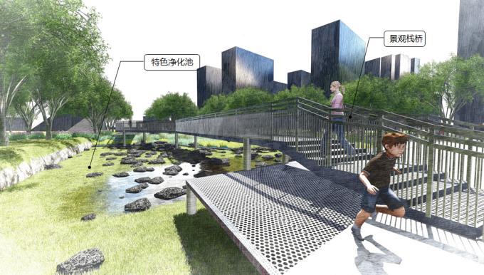 """[上海]""""海绵城市""""生态复合型公共休闲绿地景观规划设计方案_3"""