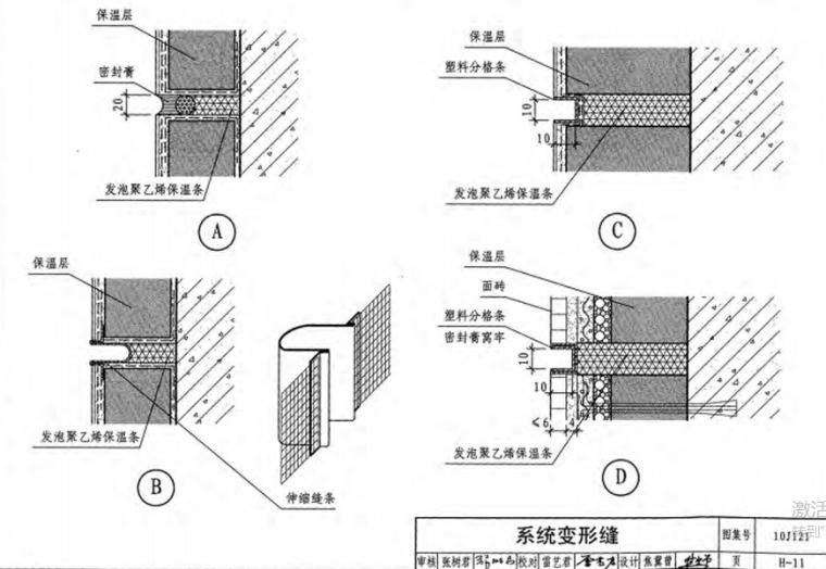 10J121外墙外保温建筑构造_4