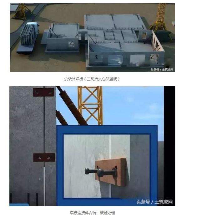 图解装配式建筑施工工艺流程