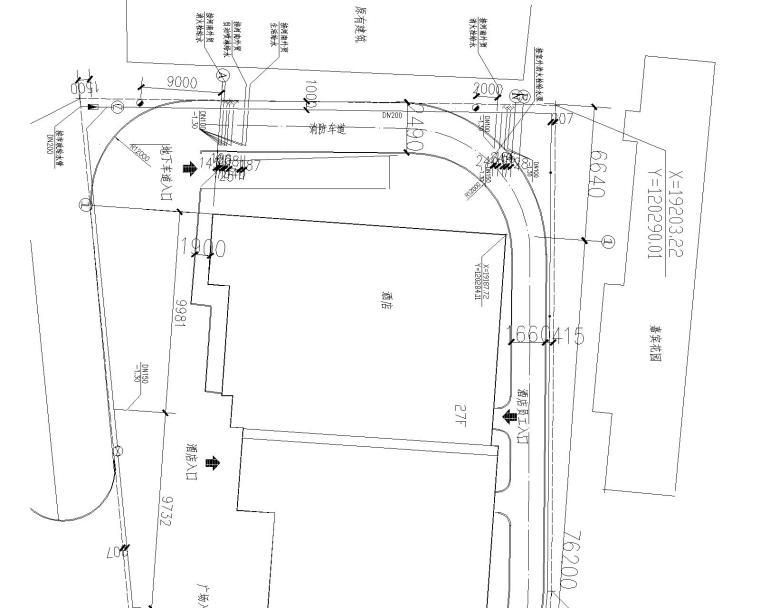 某综合高层(5星酒店和公寓)给排水施工图_1