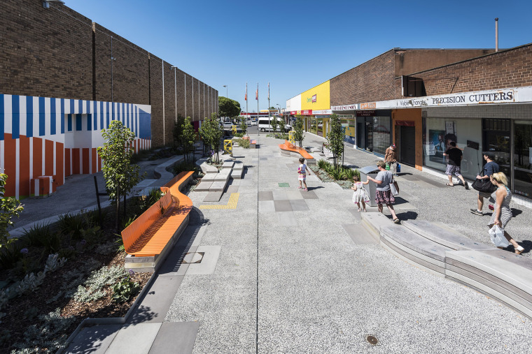 澳大利亚Morgan Court街道规划