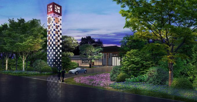 [北京]新中式文脉山水园展示区景观设计方案(附实景图)