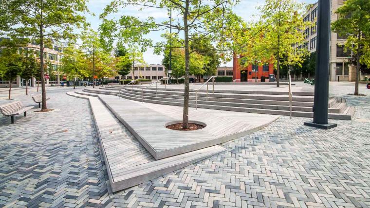布朗大学珠宝区公共空间