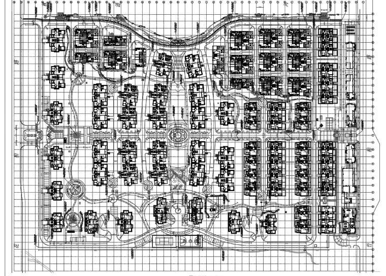 UA居住区景观设计资料下载-[上海]临港居住区景观设计全套施工图(包含+215页)