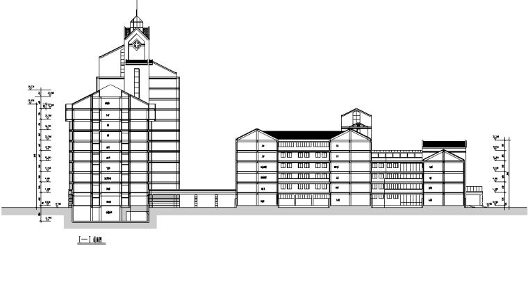 绍兴人民医院规划及建筑方案设计施工图(56张)_1