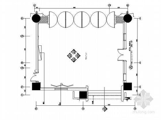 [昆山]五星级商务酒店门厅装修施工图(含效果)