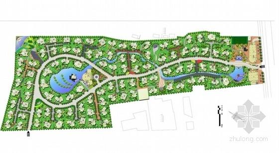 [徐州]别墅区多种别墅类型花园庭院景观设计方案