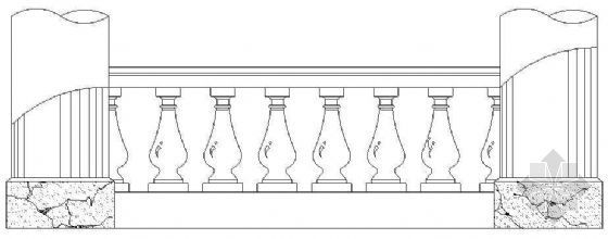 欧式栏杆详图27