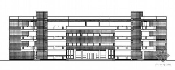 无锡惠山某学校规划区小学部建筑结构方案图