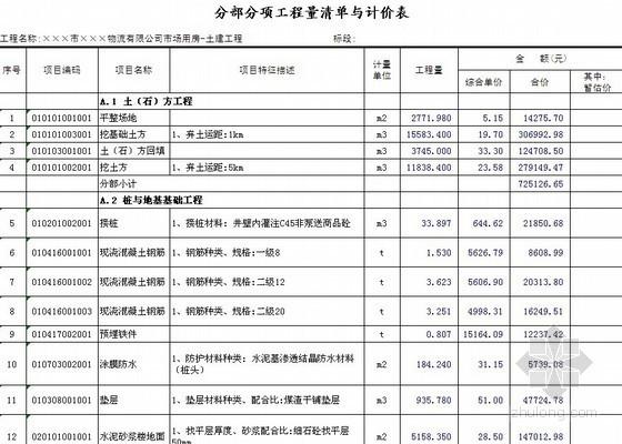 [江苏]2013年五层商业用房(含地下室)建筑安装工程量清单招标预算书